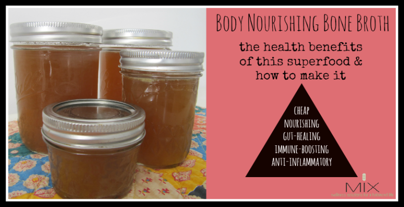 Body Nourishing Bone Broth {The Health Benefits of This Superfood & How to Make It} | www.mixwellness.com