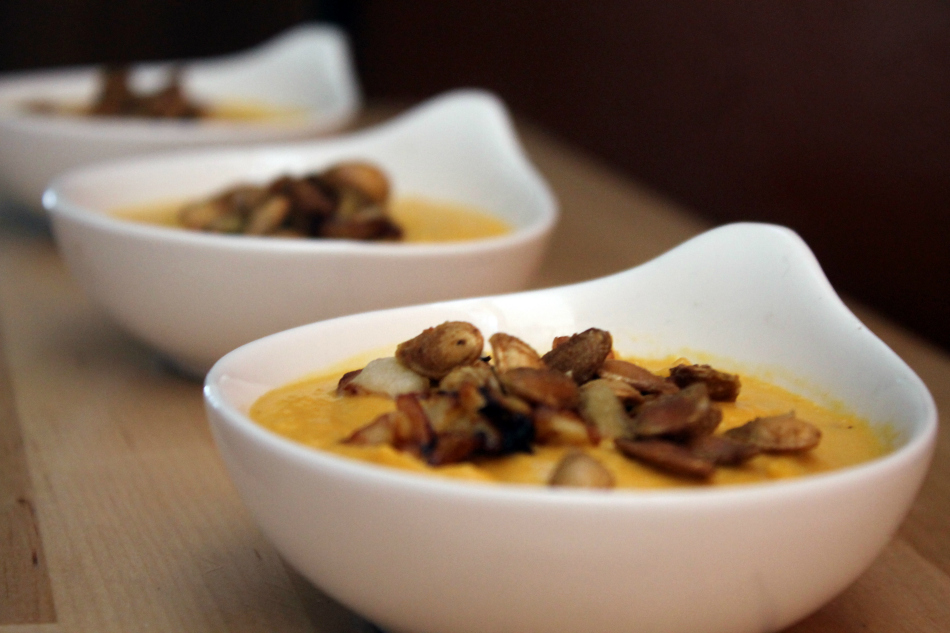 Curried-Apple Butternut Squash Soup from The Darling Bakers