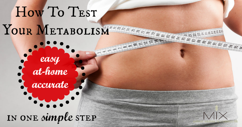 An Easy Way to Test Your #Metabolism At Home #health #diet