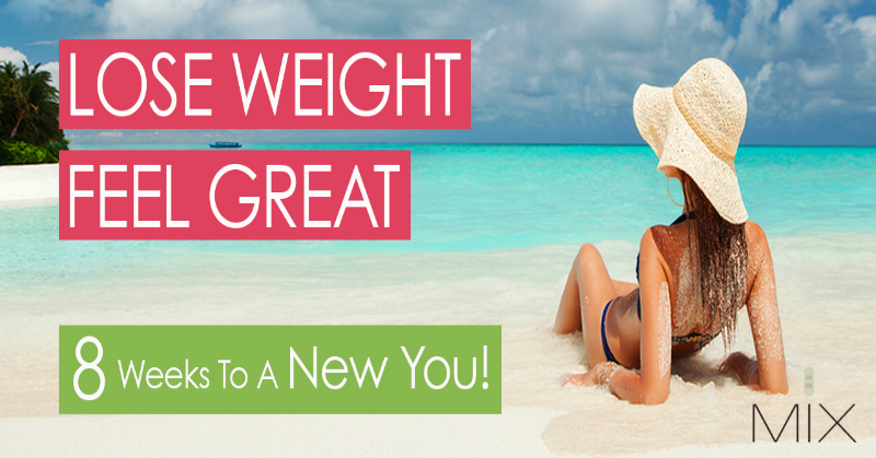 Lose Weight, Feel Great: 8 Weeks to a New You | www.mixwellness.com/newyou
