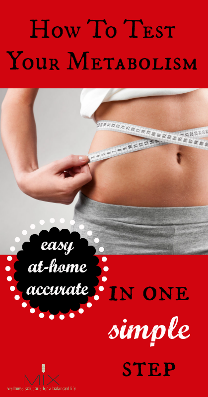 Easy way to test your metabolism At Home #health #diet