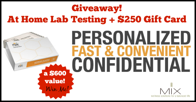 May Giveaway At Home Lab Testing {a $600 value!} | www.mixwellness.com