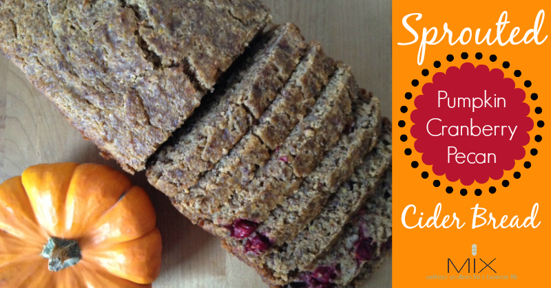 #Healthy Sprouted #Pumpkin Cider Bread #Recipe