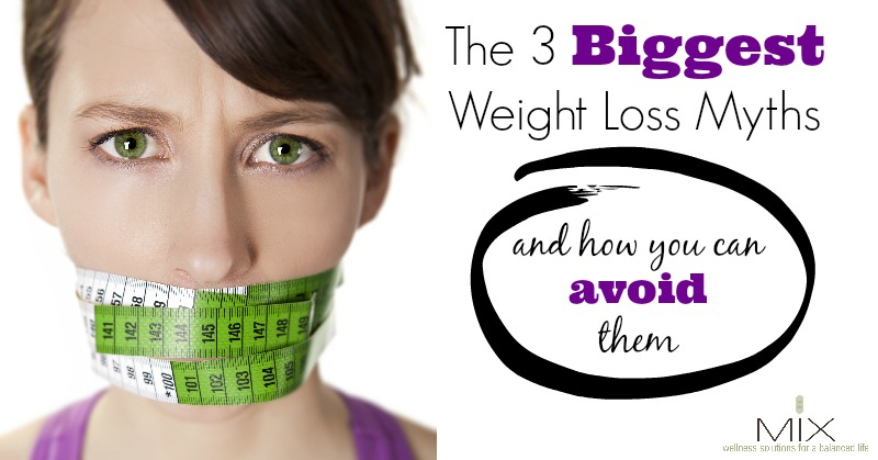 How to Avoid These 3 Common #Weight Loss Myths #diet #health
