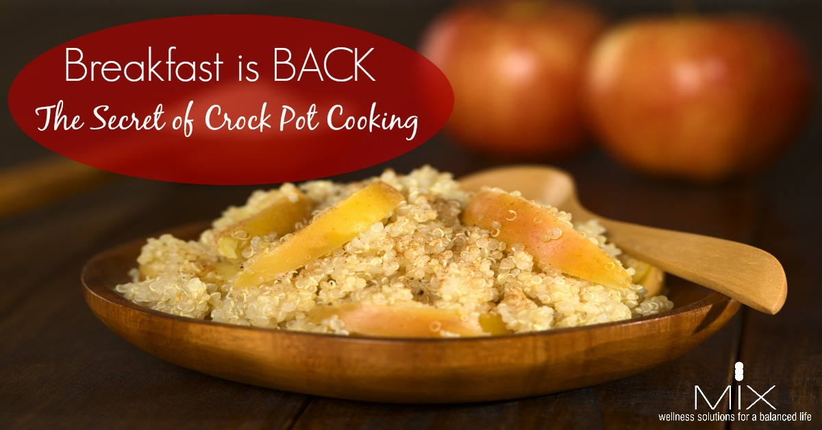 Easy & #Healthy Crock Pot Breakfast #Recipes
