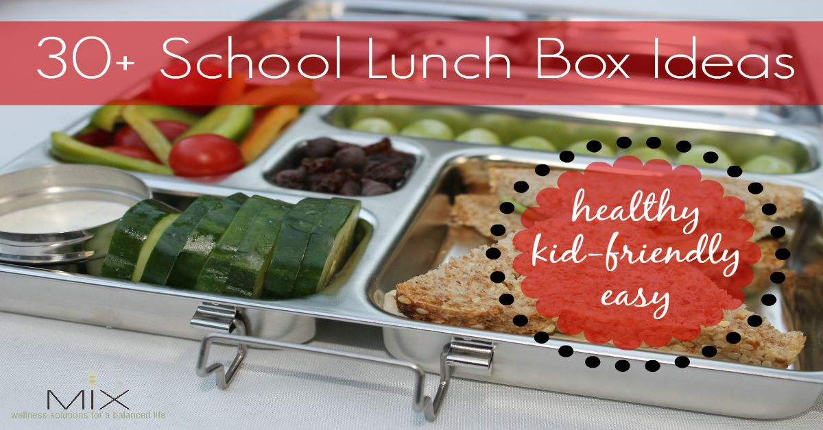 How to Pack a #Healthy School #Lunch