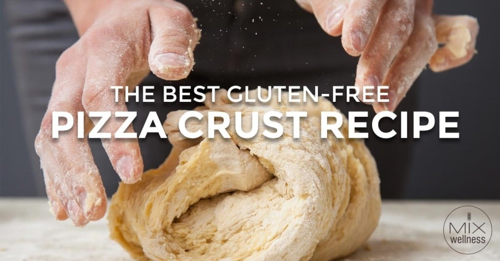 DIY a healthier, delicious #GlutenFree #pizza crust with this great #recipe