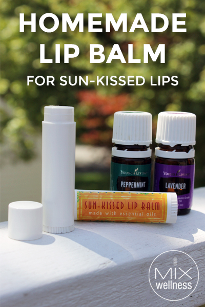 #Homemade Lip Balm for Sun-Kissed Lips