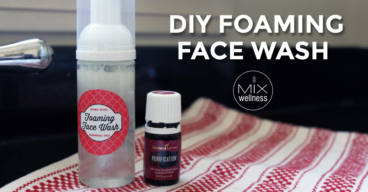 DIY Foaming Face Wash